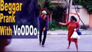 Video: Zfancy Tv Comedy - Begger with Voodoo Prank (African Pranks)